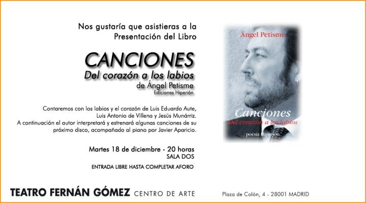 invitación Petisme Madrid