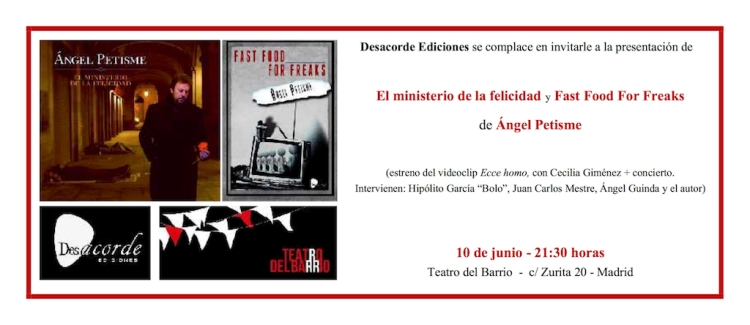 Invitacion Petisme Teatro del Barrio