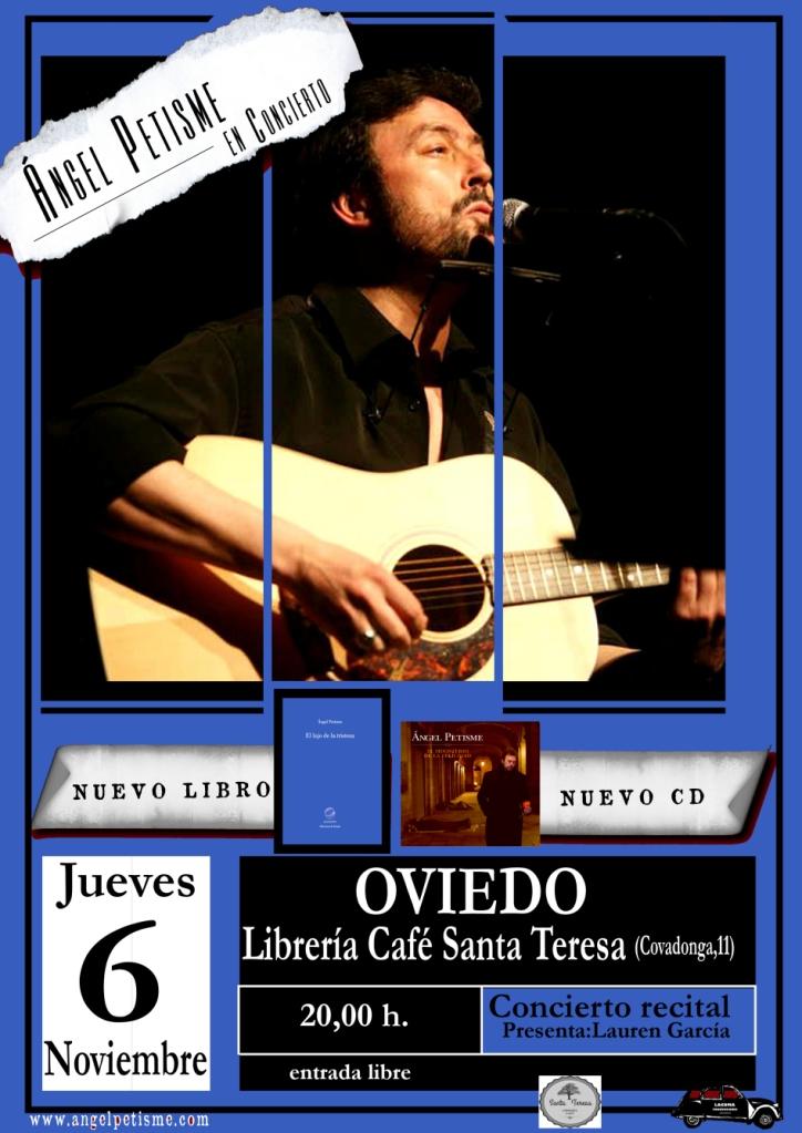 presentacion en Oviedo cartel pequenin