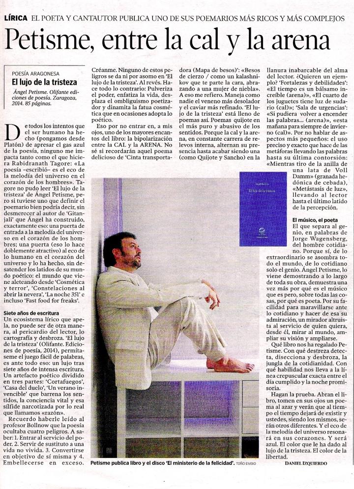 Reseña Heraldo Aragón 4-D-2014