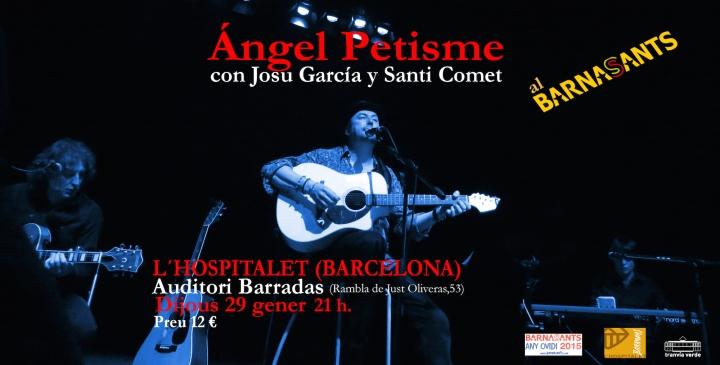 CARTEL BARCELONA CON JOSU Y SANTI peque