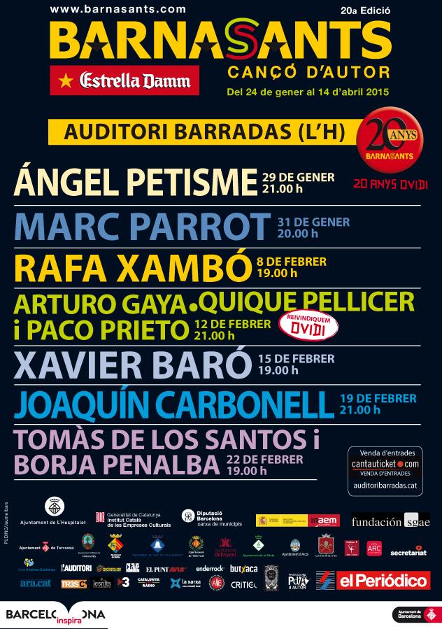 Cartell Barradas BS2015