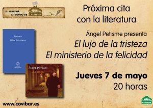 cartel MIrador literario Rivas