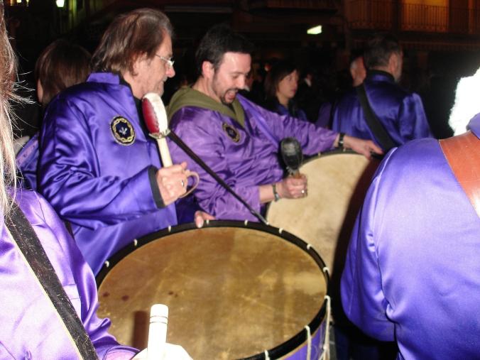 con Aute en Calanda 2005 foto Julia Moya