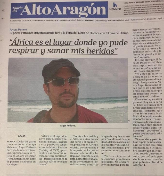 Contra Diariodel Alto Aragón