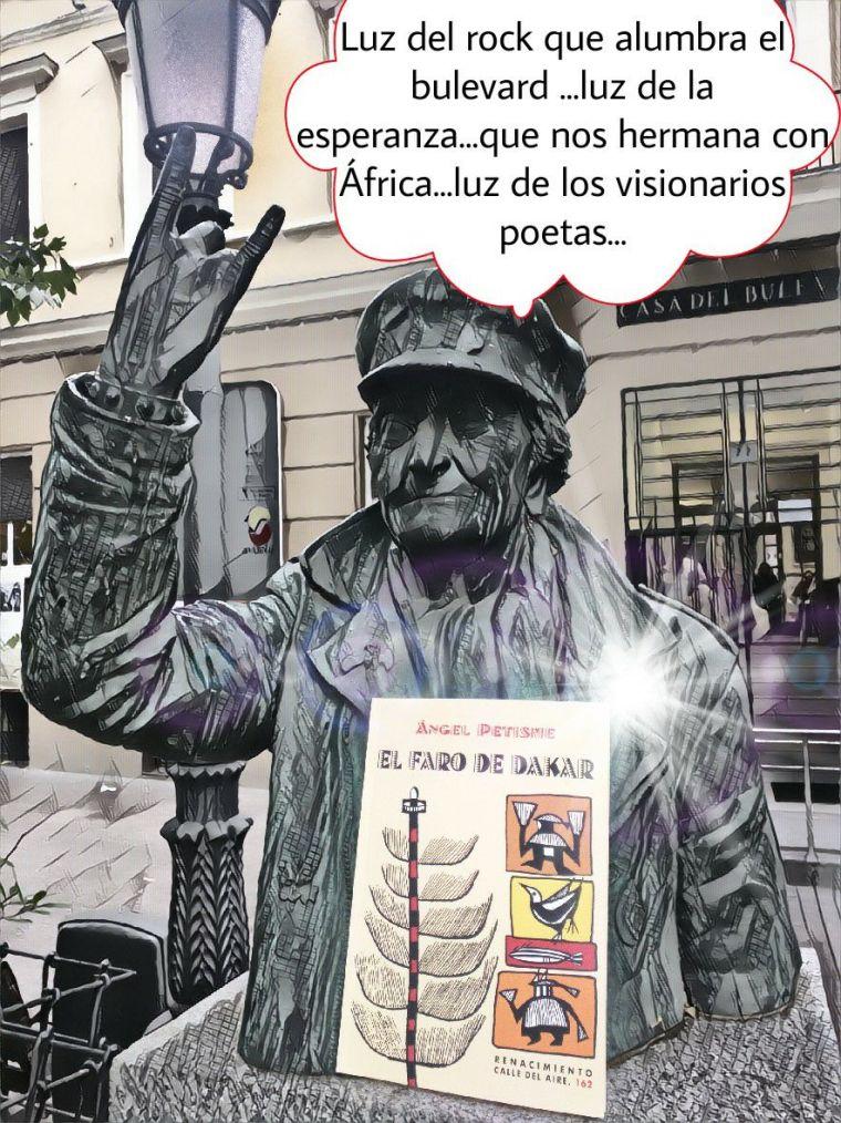 Cibercanción de autor.Diseño de vermut vallekano-dominguero...Gracias Ángel Petisme por la guitarra y el corazón...
