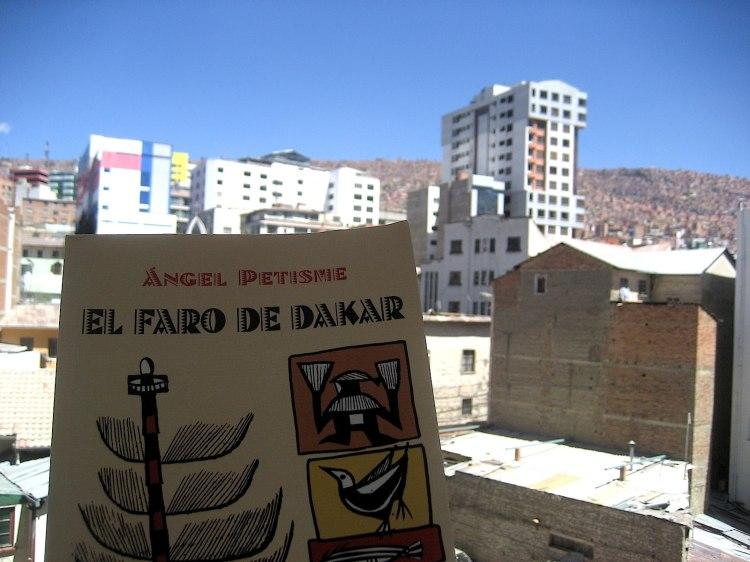 Miguel Sánchez-Ostiz. El faro en La Paz.Bolivia